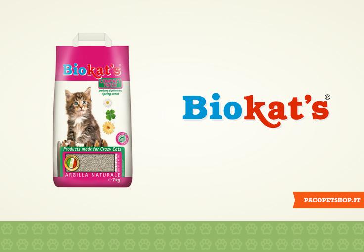 Biokat's lettiere agglomeranti per gatti