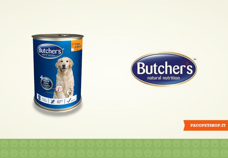 Butcher's cibo senza glutine per cani e gatti