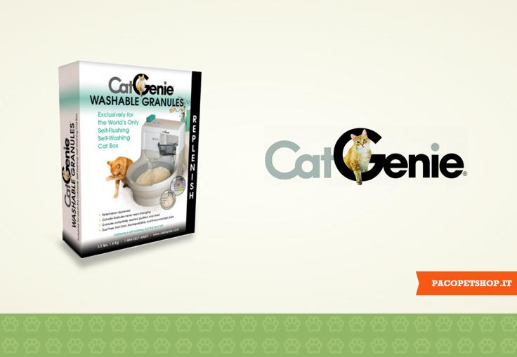CatGenie, lettiera autopulente per gatti.