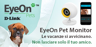 Sistema di videosorveglianza Eye On Pets