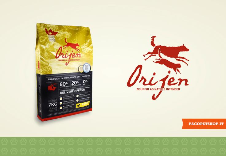 Orijnen, cibo per cani e gatti al alto contenuto di proteine di prima qualità