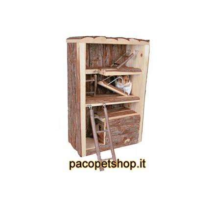 Miro spazio gioco in legno for Moderni piani casa icf