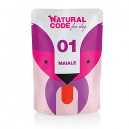 Natural Code Dog Pouch in...