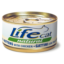 Life Cat natural per Gattini con Pollo