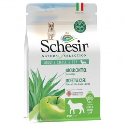 Schesir Natural Selection Adult Small e Toy al Agnello per Cani