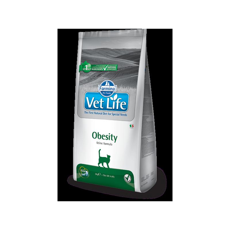 Farmina Vet Life Obesity Feline per Gatti