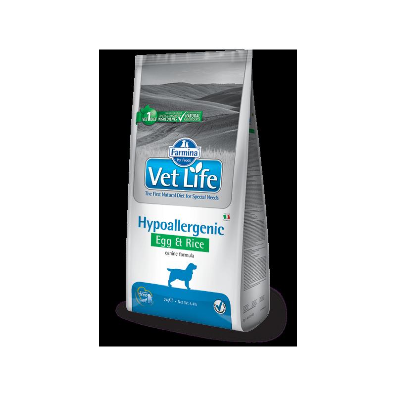 Farmina Vet Life Hypoallergenic Uova e Riso per Cani