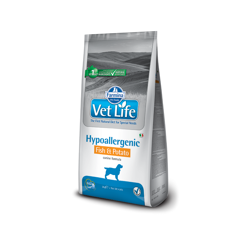 Farmina Vet Life Hypoallergenic Pesce e Patate per Cani