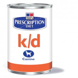 Hills Prescription Diet K/D lattina cane