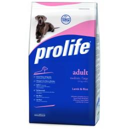 Prolife Adult Medium/Large con Agnello e Riso per Cani