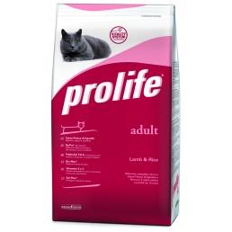 Prolife Adult Cat con Agnello e Riso per Gatti