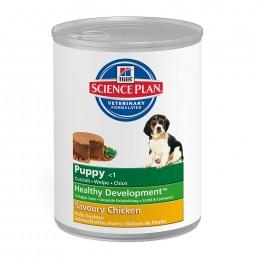 Hills puppy con pollo lattina 370 gr