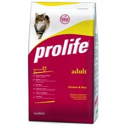Prolife Adult Cat con Pollo e Riso per Gatti