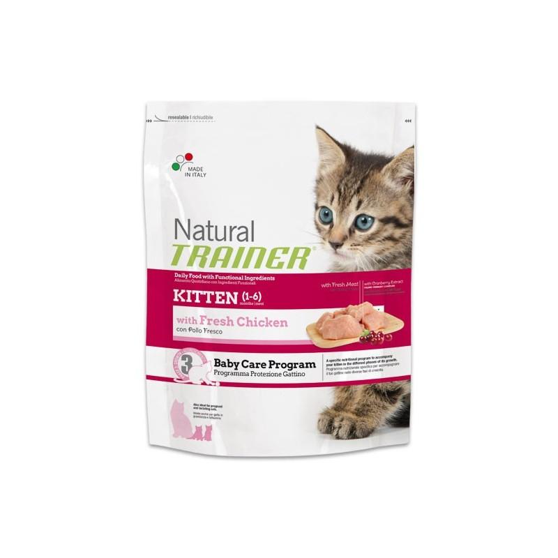 Natural Trainer Kitten con Pollo Fresco