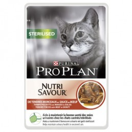 Nutrisavour Sterilized Cat