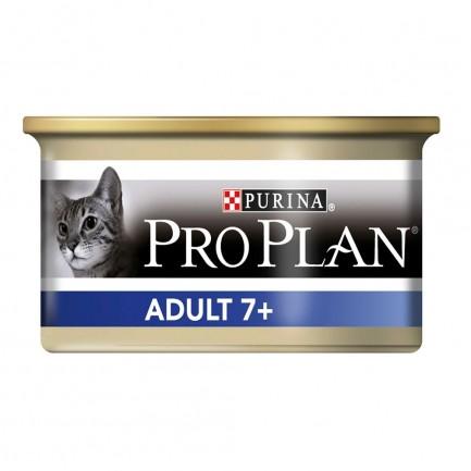 ProPlan Adult 7+ Mousse con Tonno