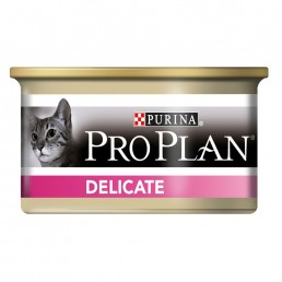 ProPlan Adult Cat Delicate con Tacchino Lattina