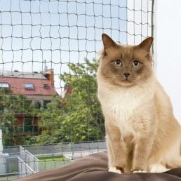 Rete di Protezione per Gatti Rinforzata