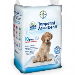 Bayer Pet Casa Clean Tappetini Assorbenti