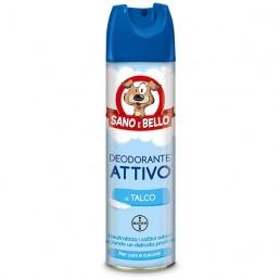 Bayer sano e bello deodorante attivo al talco