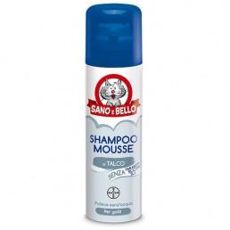 Bayer Sano e Bello Shampoo Mousse al Talco per Gatti