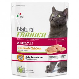 Natural Trainer Adult Cat con Pollo Fresco