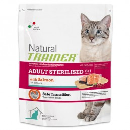 Natural Trainer Adult Sterilised con Salmone
