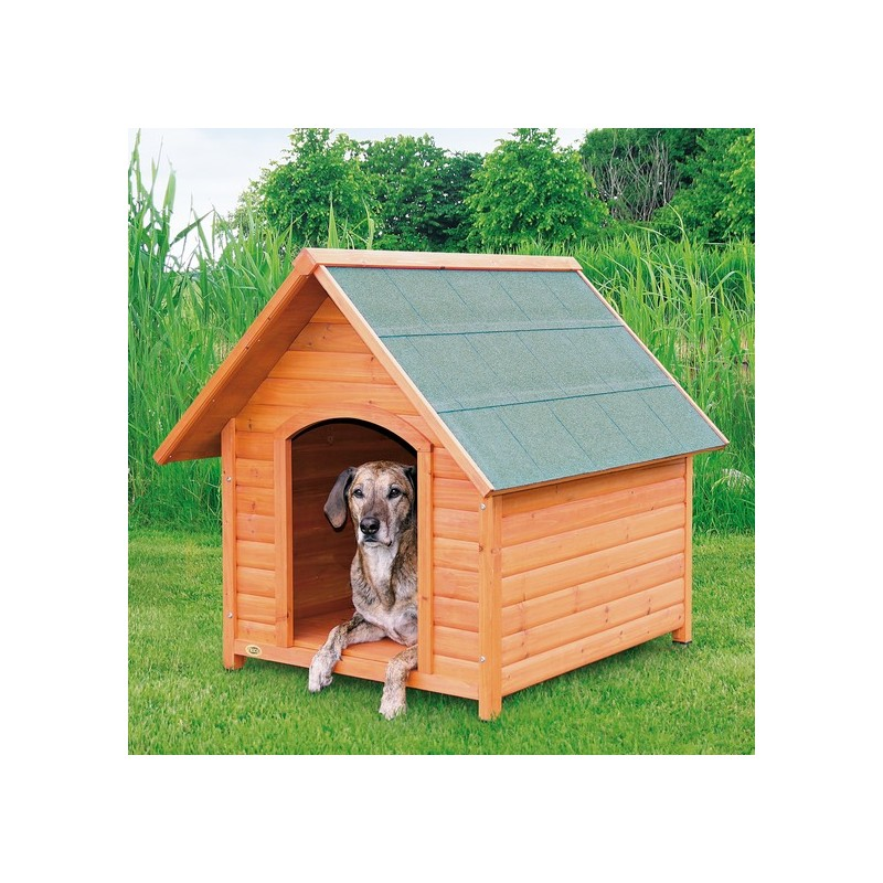 Cuccia da esterno per cani in legno pacopetshop - Casa de perro grande ...