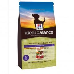 Hill's Ideal Balance Mature Adult per Cani con Pollo Fresco e Riso Integrale