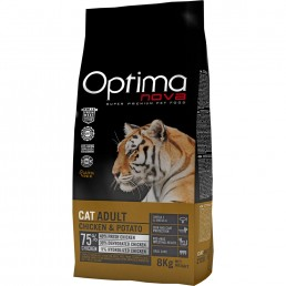 Optima Nova Cat Adult con Pollo e Patate GRAIN FREE