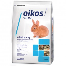 Oikos Rabbit Young Alimento Completo per Conigli Giovani