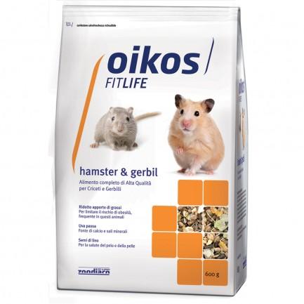 Oikos Hamster e Gerbil Alimento Completo per Criceti e Gerbilli