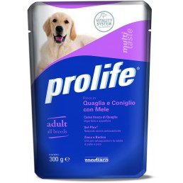 Prolife Dog Multi Taste Adult - 6 buste da 300 g