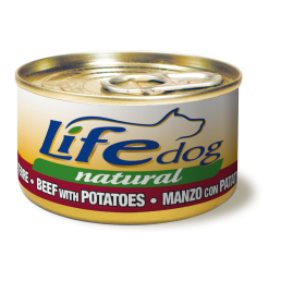 Life Dog Natural Manzo con Patate in Salsa