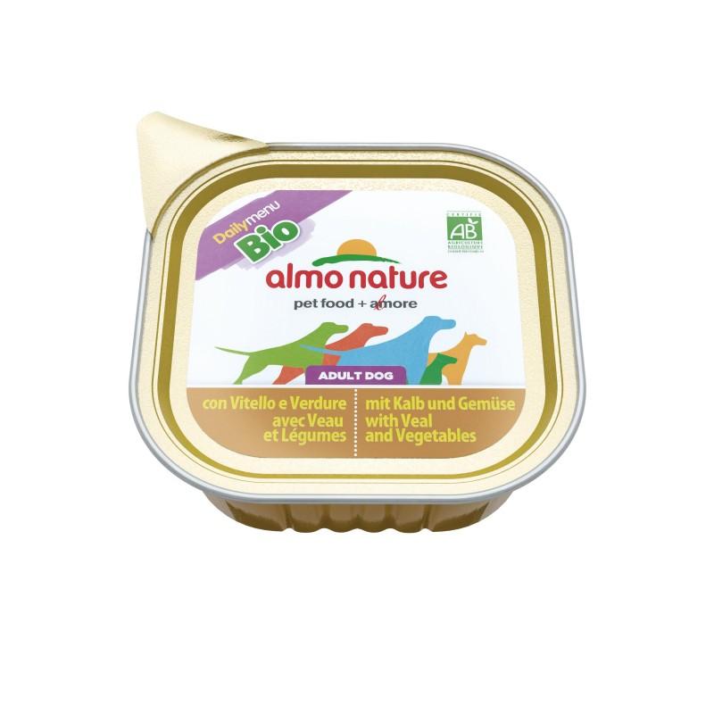 Almo nature daily menu bio cibo umido per cani bio for Vaschetta tartarughe prezzo