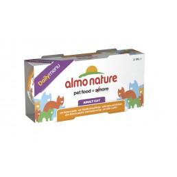 Almo Nature Daily Menu - 2 lattine da 170 gr