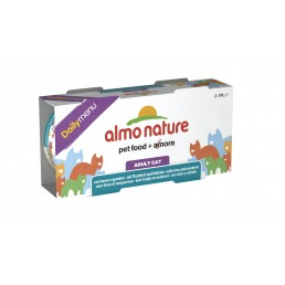 Almo Nature Daily Menu - 2 lattine da 170 gr