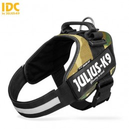 Julius K9 IDC Power Harness Pettorina per Cani CAMOUFLAGE
