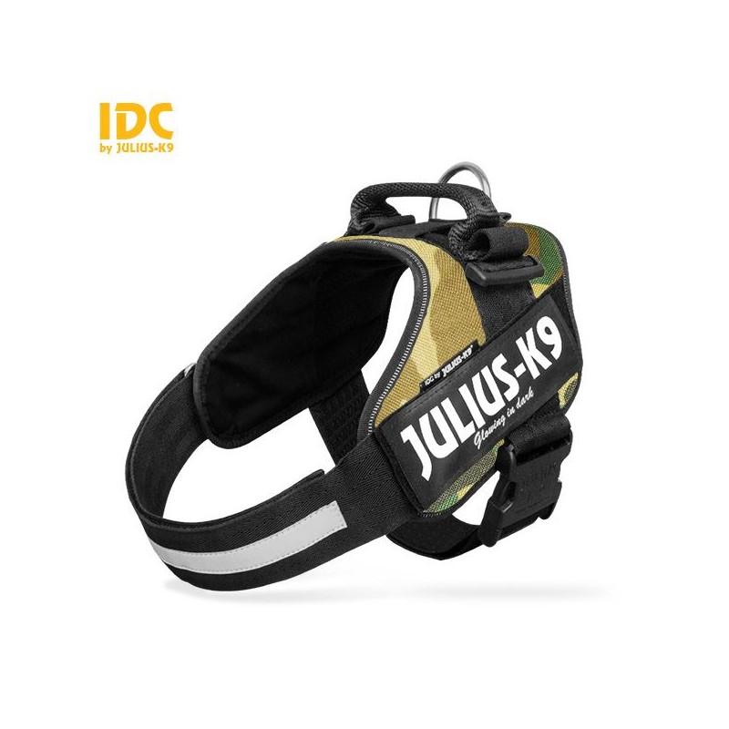Julius K9 IDC Power Harness Pettorina per Cani CAMOUFLAGE
