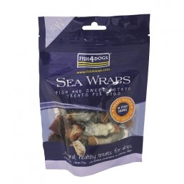 Fish4Dogs Sea Wraps Sweet Potato Snack per Cani