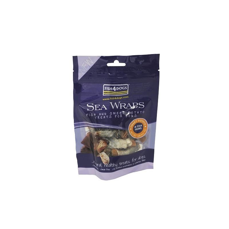 Sea Wraps Sweet Potato & Fish Skin