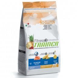 Fitness3 Trainer Adult Medium/Maxi con Salmone-Mais per Cani