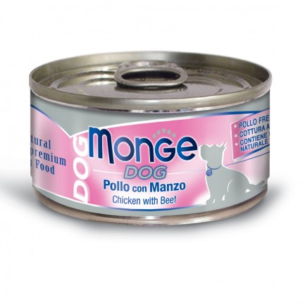 Monge Natural Superpremium Umido per Cani - 6 lattine da 95 gr