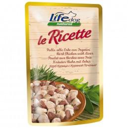 LifeDog Le Ricette - 6 buste da 95 gr