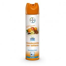 Pet Casa Clean Deodorante Spray per Lettiera