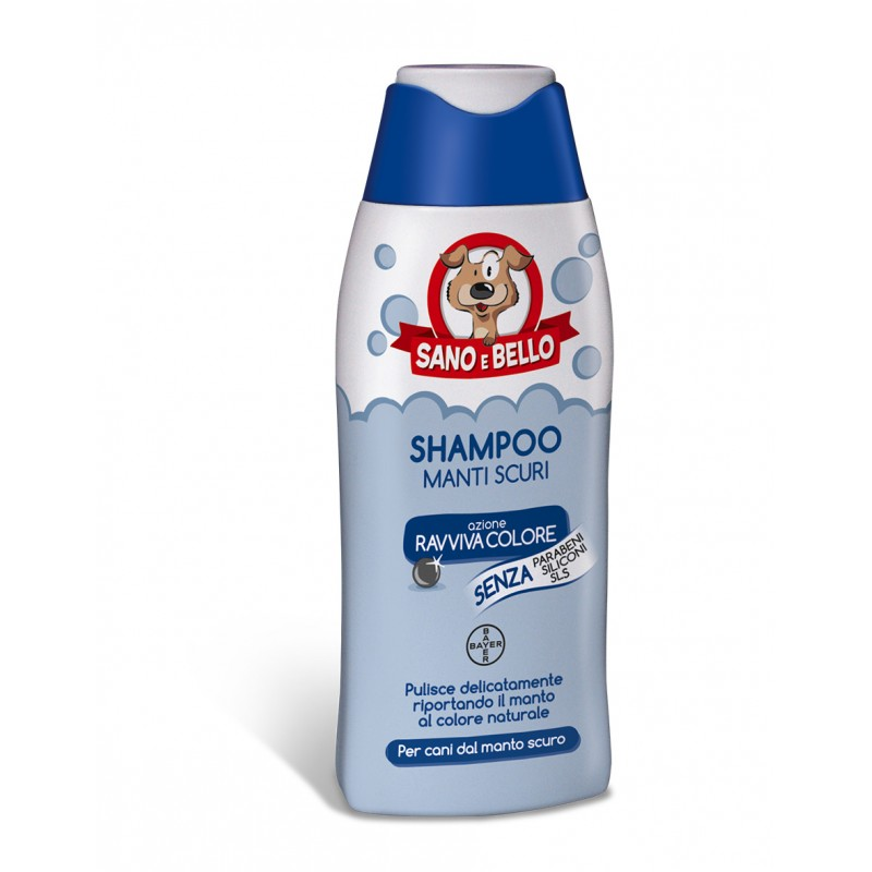 Sano e Bello Shampoo Manti Scuri