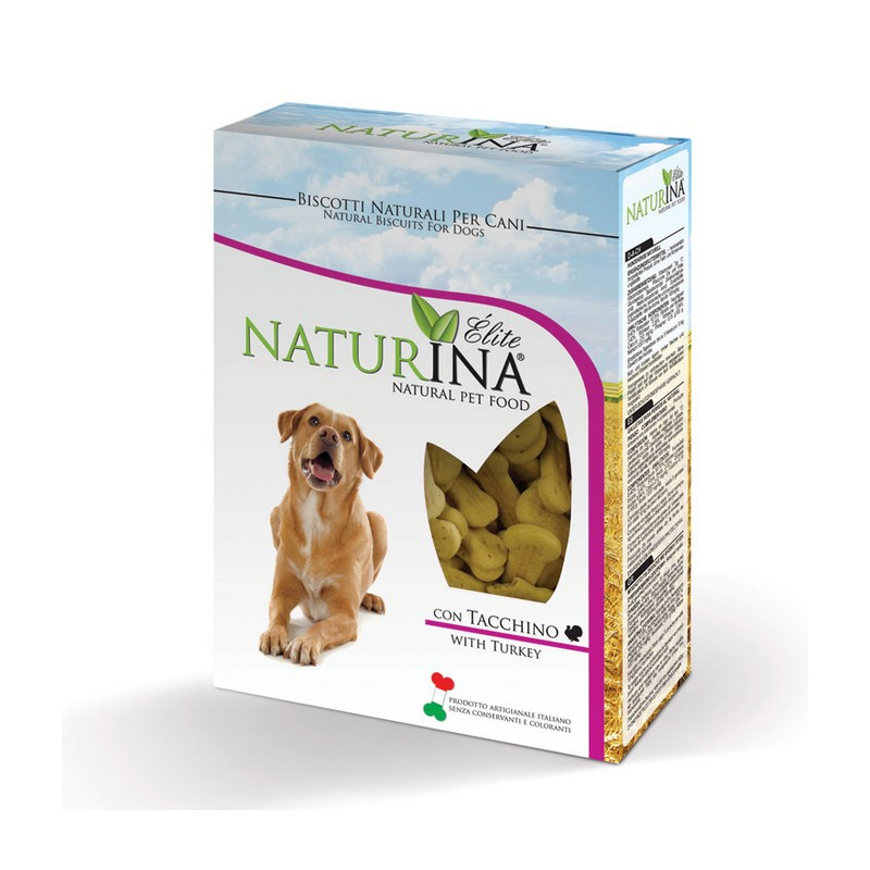 Naturina Biscotti per Cani al Tacchino