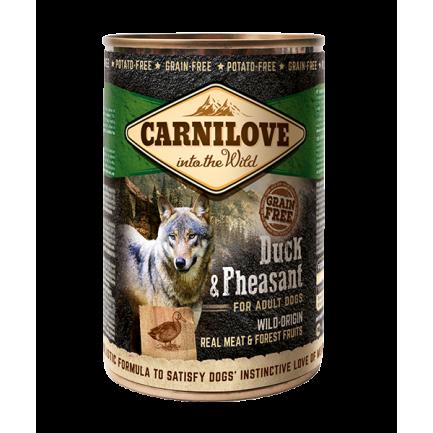 Carnilove Anatra e Fagiano Carne per Cani Adulti