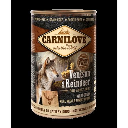 Carnilove Cervo e Renna Carne per Cani Adulti