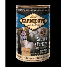Carnilove Salmone e Tacchino Carne per Cani Adulti